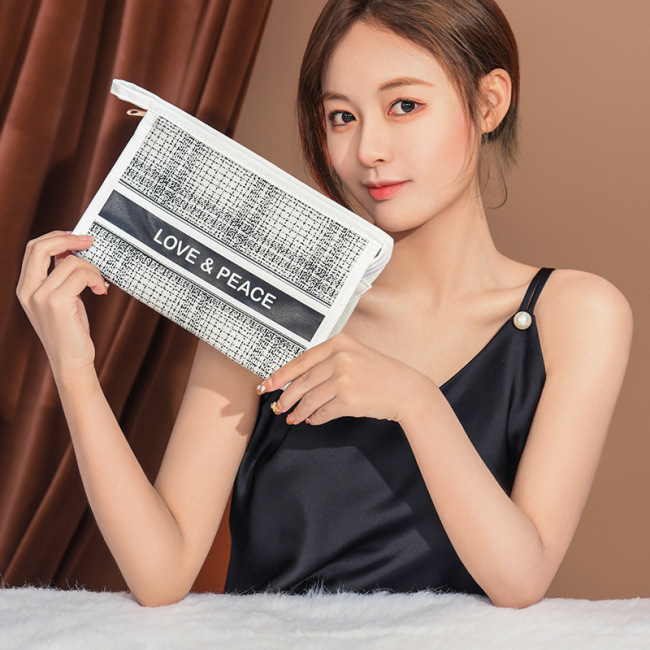 New xiaoxiangfeng series cosmetic bag hand holding cosmetic bag ladies portable cosmetic storage bag washing bag customization