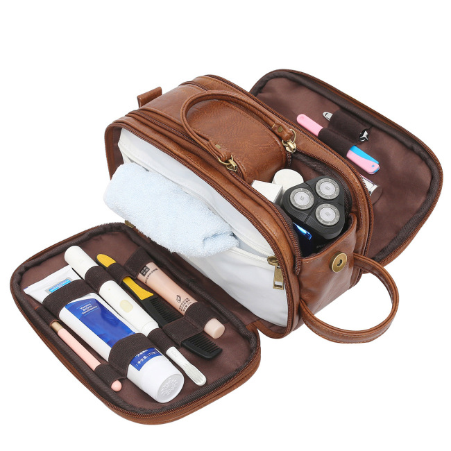 2021 cross border new men's toiletries travel storage cosmetic bags available in stock