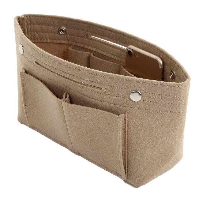 Manufacturer wholesale felt cosmetic bag, middle bag, creative cosmetic bag, travel bag