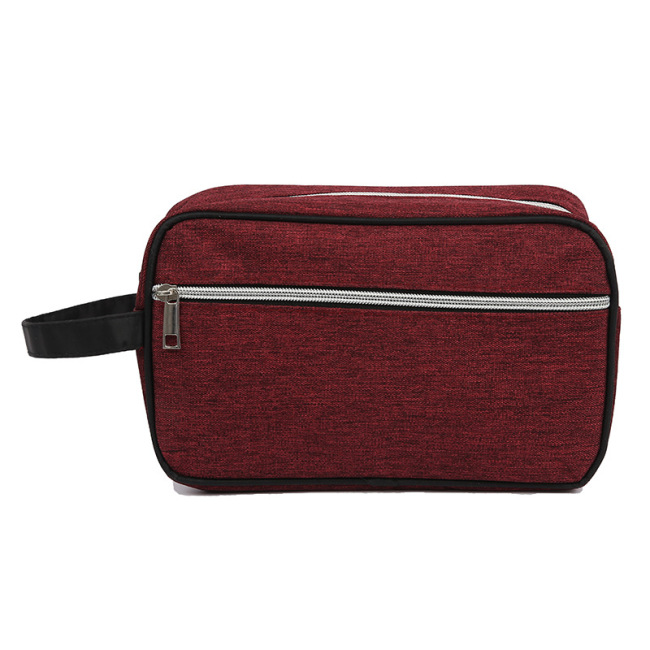 New waterproof Oxford cloth cosmetic bag women's portable storage bag simple multi-function portable travel wash bag customization