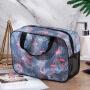 New portable storage bag fashion Flamingo bottom net washing bag large capacity waterproof portable skin care products washing bag