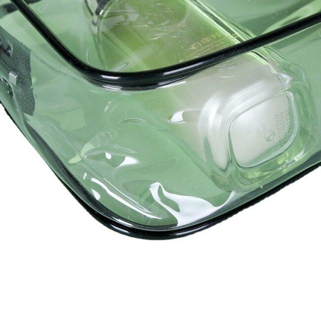 Hot pressed PVC transparent packaging bag plastic zipper bag cosmetic bag packaging bag customization