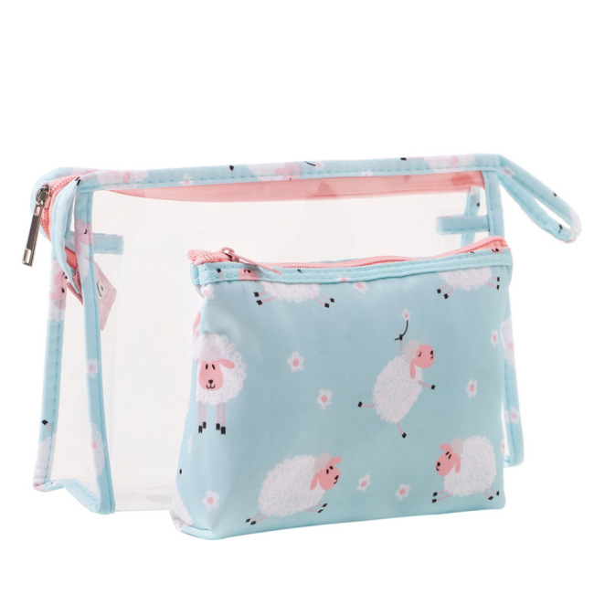PVC Travel Lady Storage Bag with Multiple Patterns