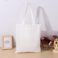 Canvas bag custom blank canvas bag spot custom logo cotton portable shopping bag student single shoulder canvas bag