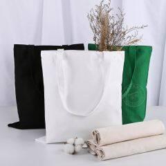 Factory direct supply sailcloth bag can print logo blank student cotton bag advertisement portable shopping bag
