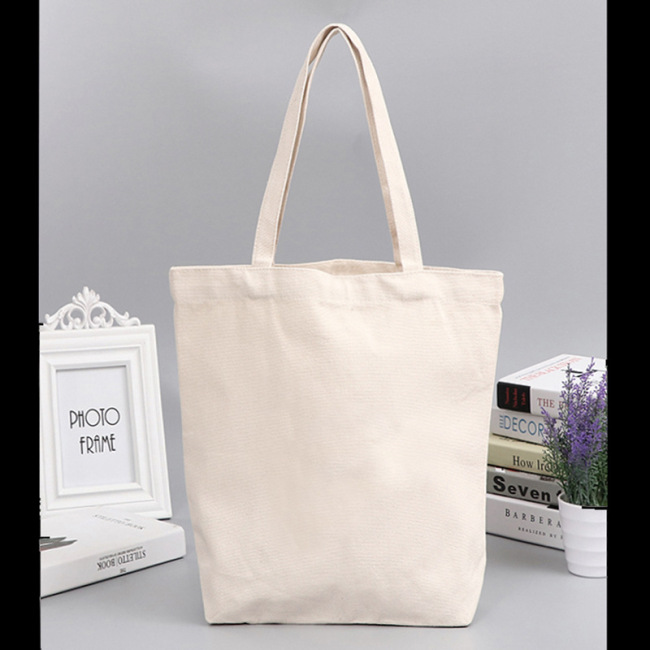 Customized canvas bag printed logo cotton DIY gift enterprise handbag student training Yoga canvas bag customization