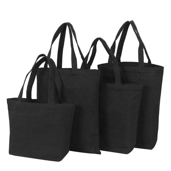 Manufacturers canvas bag spot customized advertising shopping portable cotton bag customized blank canvas bag printing logo