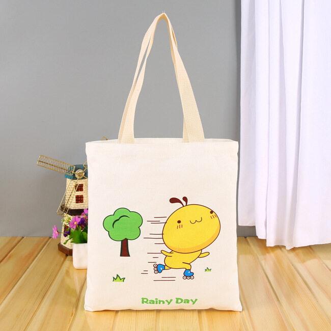 Canvas bag custom logo blank advertising shopping canvas bag cotton bag custom canvas bag custom bag zipper