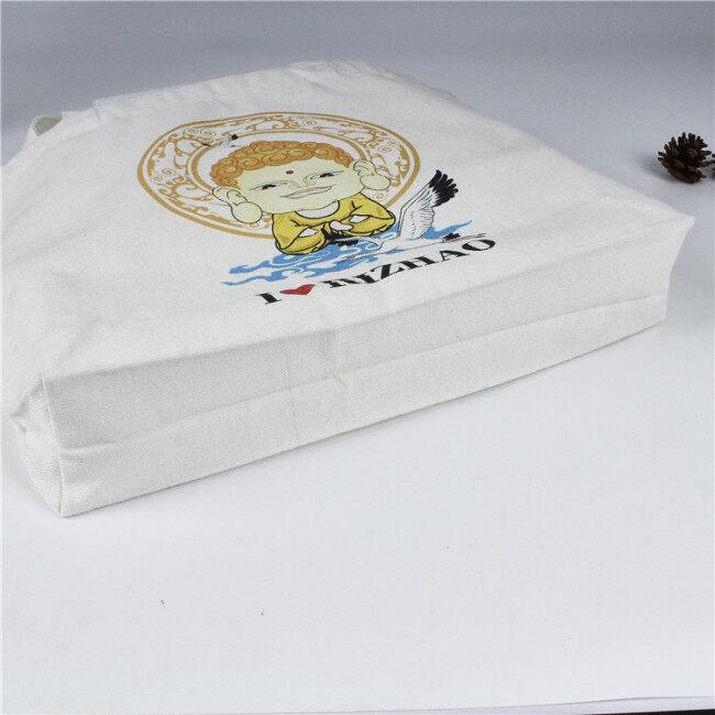 Canvas bag customized clothing shopping storage bag creative advertising cotton bag printing portable canvas bag customized logo