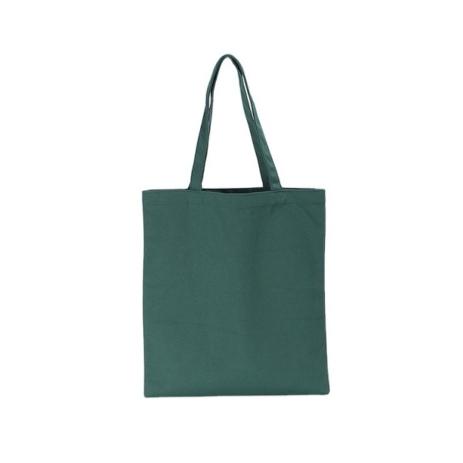 Manufacturers wholesale hand-held canvas bags customized logo college students one shoulder canvas bags advertising shopping cotton bags customized