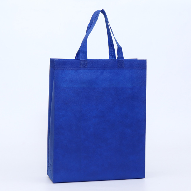 Non woven bag folding custom logo environmental protection plastic bag gift advertisement hot press shopping bag customization