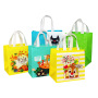 Non woven bag manufacturers direct spot printing logo three-dimensional shopping bags, customized take away bags