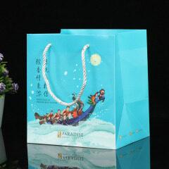 Customized PP plastic bag transparent bag gift bag Dragon Boat Festival packing bag Festival gift box color bag