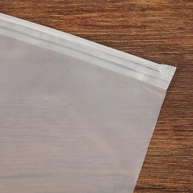 Spot EVA frosting bag PE underwear bra sealing bag PP self sealing bag clothing zipper bag custom printing