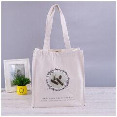 Canvas bag spot custom logo blank printing shopping bag custom portable cotton bag student one shoulder canvas bag