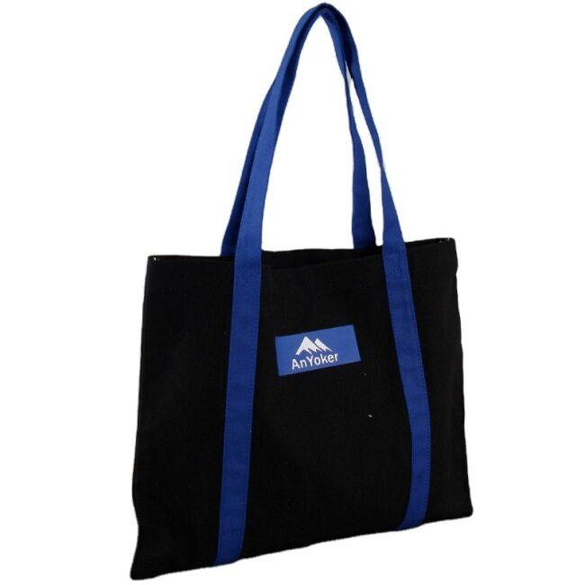 Canvas bag custom printing logo one shoulder training class students portable canvas bag cotton bag gift bag custom