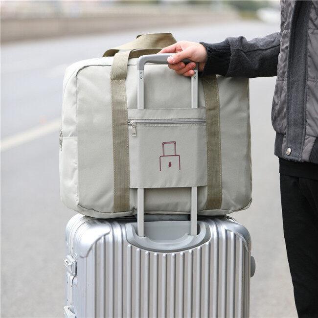 New large capacity travel storage bag single shoulder storage bag portable folding bag aircraft bag gift bag spot wholesale