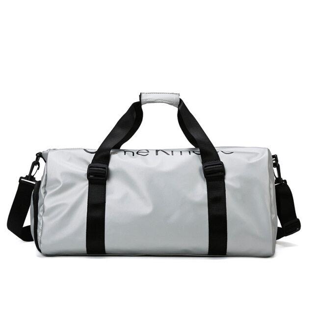 Wholesale short distance hand-held travel bag, dry wet separation, large capacity shoulder bag, sports fitness bag, trend slant span bag