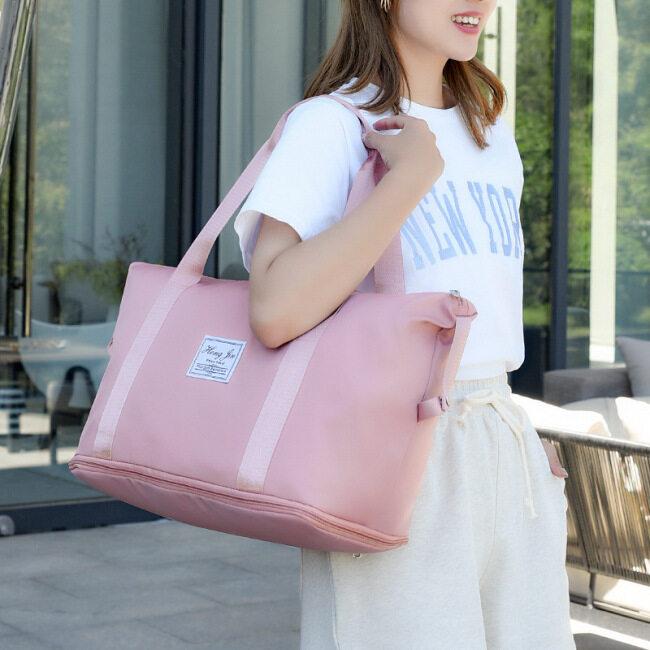 Expandable pilot travel bag dry wet separation fitness bag Yoga Bag Handbag boarding bag luggage bag