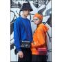 2020 new men's shoulder bag New Street ins fashion bag student leisure Oxford cloth satchel customized logo