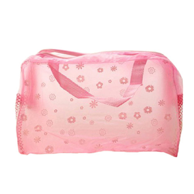 Transparent Cosmetic Toiletry Bathing Pouch