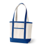 Extra Heavy-Weight Large Personalized Boat Tote Cotton Canvas Tote Bag For Grocery