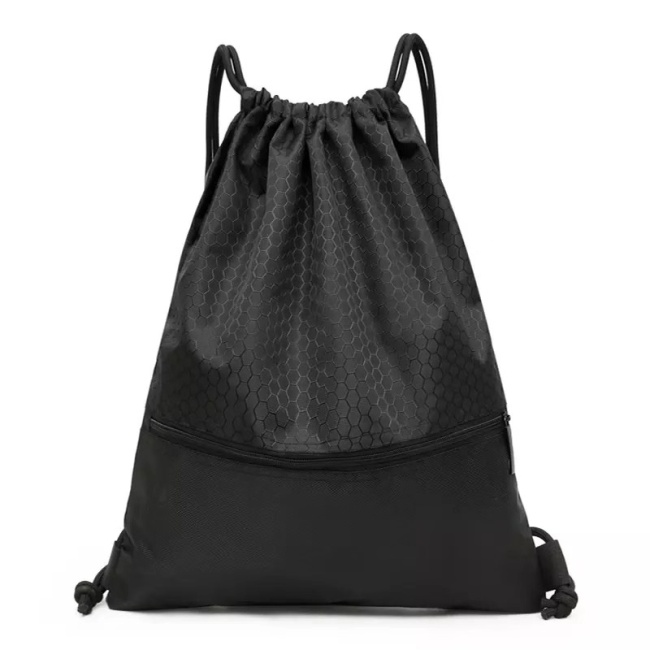 420D Waterproof Polyester Nylon Drawstring Bag/Wholesale Drawstring Backpack/Promotional Kids Custom Drawstring Bag