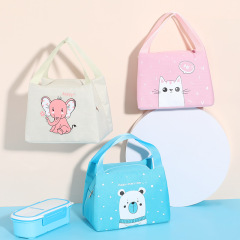 Fashion Cute Cartoon School Kids&Office Carry Waterproof Foil Thermal Insulated Lunch Cooler Bag
