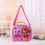 Cute insulated kids cooler bag backpack for picnic Wholesale Cartoon Kids Children School lunch bag