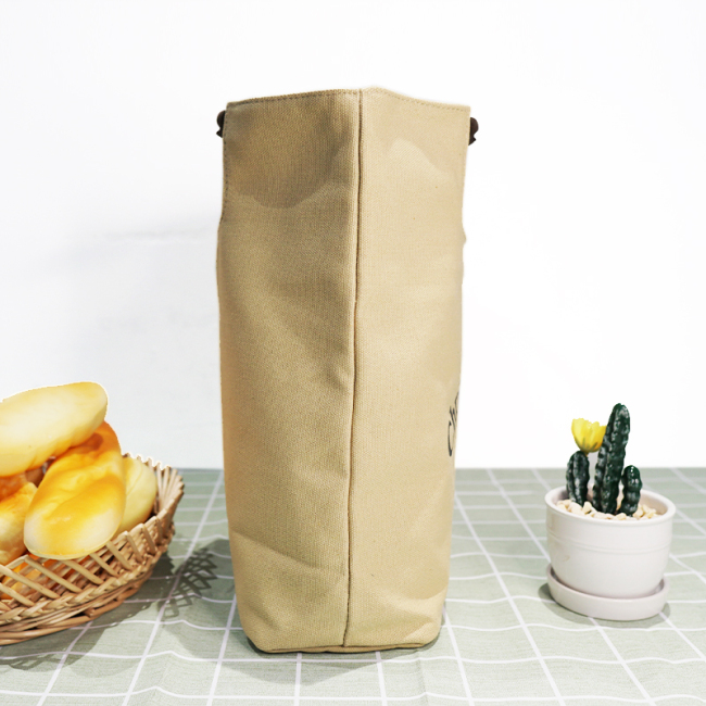 New Design Durable Strong Standard Size Plain White Tote Retro Organic Cotton Canvas Fabric Tote Bag with Logo Printed