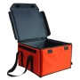Factory Price Red Insulated Temperature Food Grocery Container Storage Box Delivery Cooler Bag For Take-out