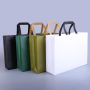 Custom Logo Printed Promotional Colorful PP Non Woven Bag Reusable Carry Shopping Tote  Bag
