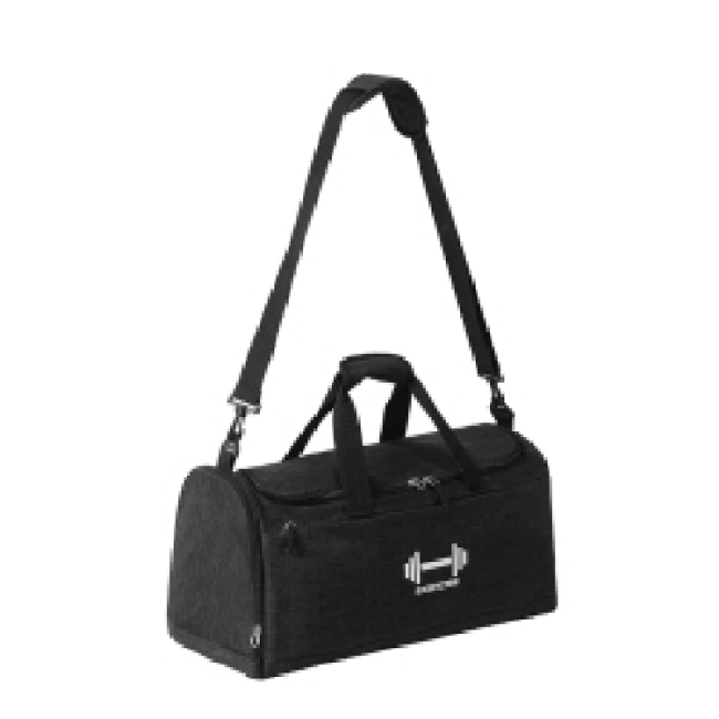 Unisex Large Capacity Travel Bag Outdoor Waterproof Sport Gym Travel Duffel Bag With Shoe Compartment