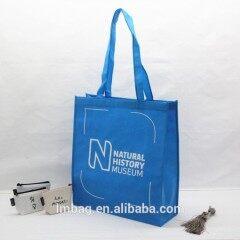Customized reusable tote shopping bag recycled eco non woven bag with logo