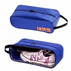 promotional portable waterproof travel shoe bag with custom logo