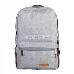 Stylish linen leisure shoulder bag