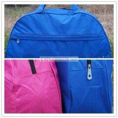 Plain polyester travel bag