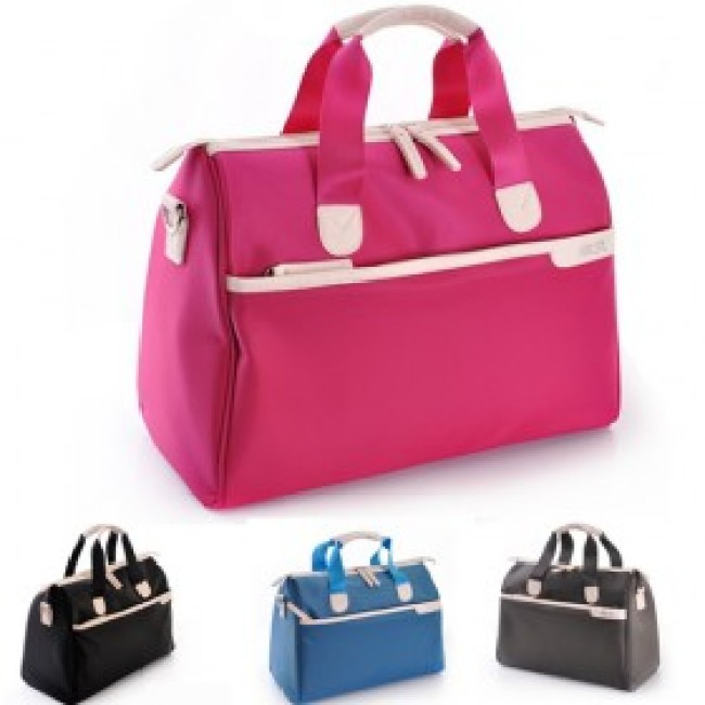 Candy color ladies travel bag