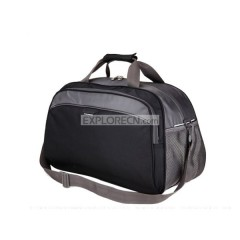 Travelling luggage bag with water bottle holder