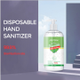Waterless quick-dry antibacterial gel no-water alcohol gel hand sanitizer