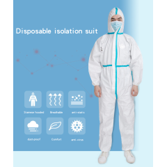 Disposable isolation clothes nonwoven coverall protective suit