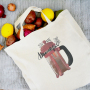 Canvas Cotton Fold-able Shopping Bag
