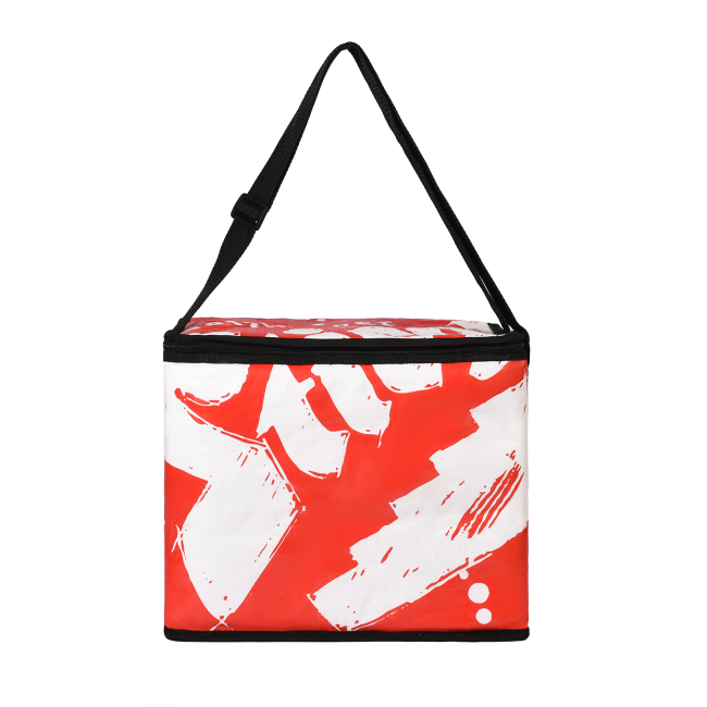 High quality easy taking woven bag with PP cotton lunch bag