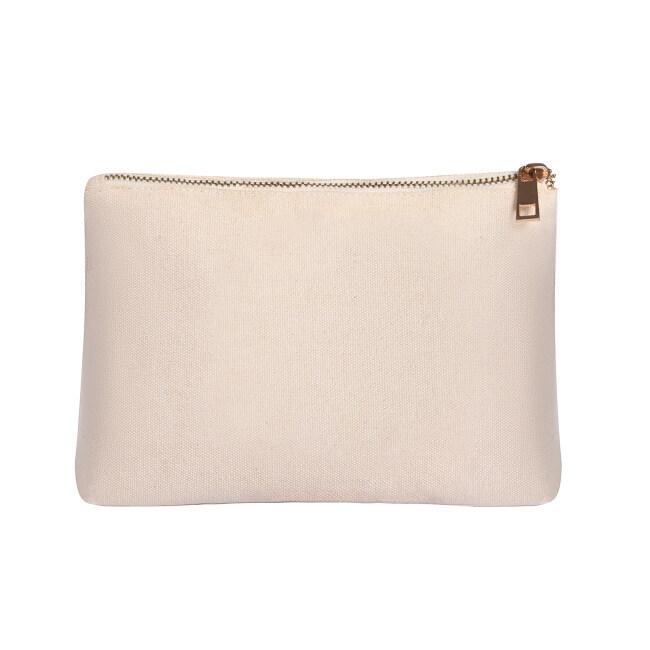 Chroma Zip Tweedle Dee Cotton cosmetic bag