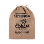 Large Storage Drawstring Shopping Tote Jute Linen Bag
