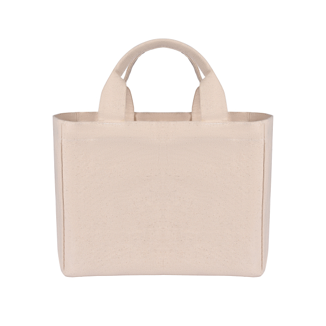 Cotton Shopping Tote Bag With Custom Logo Printed