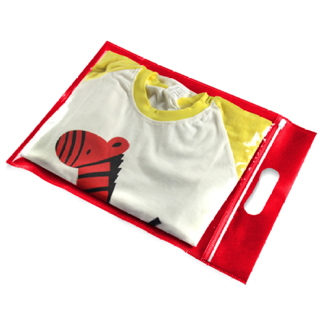 Clothing Transparent Zipper Bag