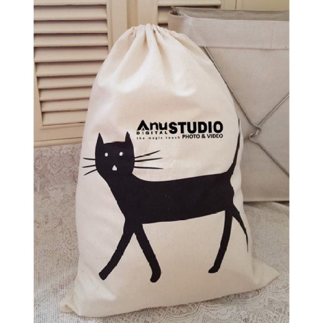 Cartoon Printing Laundry Storage Drawstring Bag