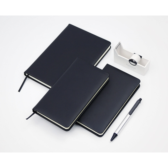 2019 Classic Waterproof PU Hardback Business Custom Printing Paper Notebook