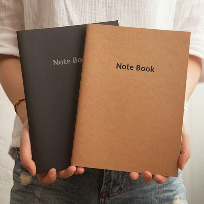 2019 Wholesale Cheap Handmade Custom Printed A5 A6 School Paper Notebook